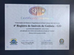 Certificado Diamante